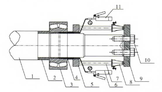 Hammer Mill Bearing Assembly