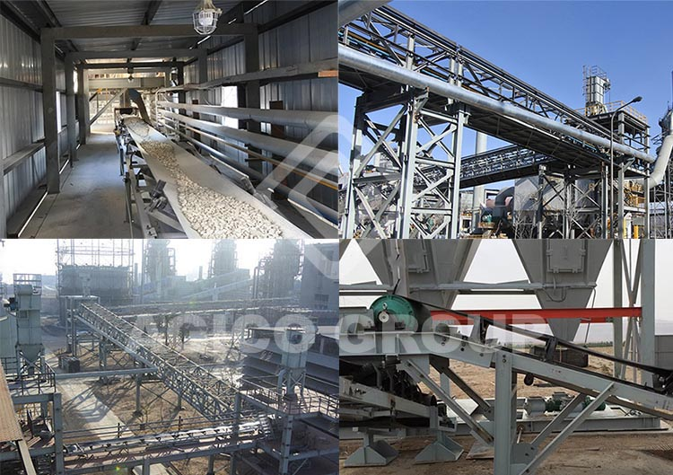 Belt Conveyor Application in Cement Plant