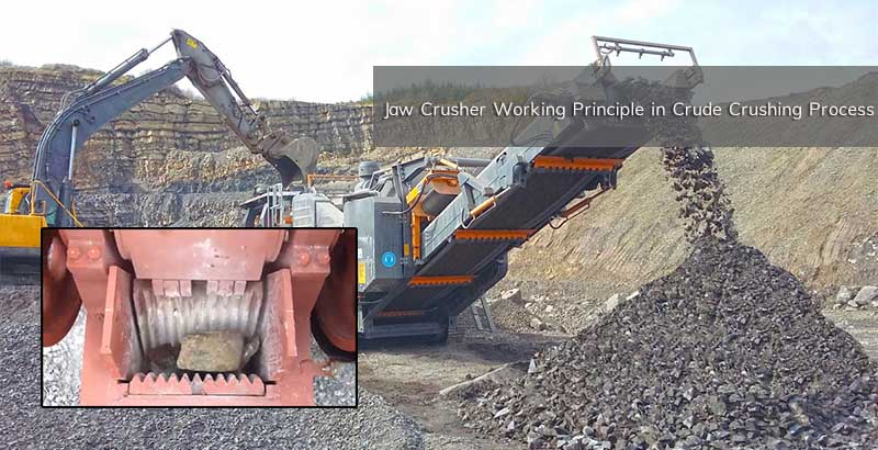 Jaw Crusher in Mineral Field