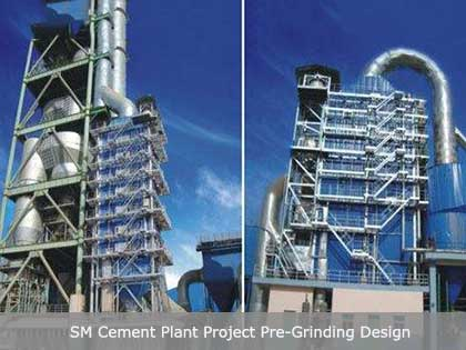 Cement Plant Projects Of Pre-Grinding Equipment Before Ball Mill
