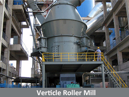Verticle Roller Mill for Grinding